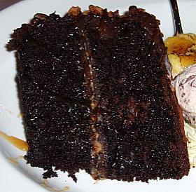 Rich moist chocolate fudge cake recipe